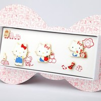 Hello Kitty First Edition Collector's Pin Set