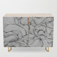Fabric Credenza by duckyb