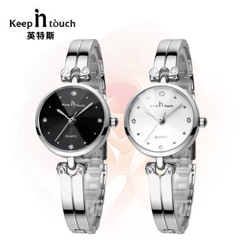 Classic diamond women watch lady watches women  fashion watch 2016 bracelet wristwatches girl watch