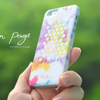 iphone case : abstract colorful watercolor