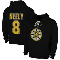 Cam Neely Boston Bruins Old Time Hockey Malcolm Skate Lace Alumni Hoodie – Black