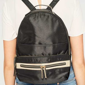 Nylon Zip Rucksack - Purses & Wallets - Accessories