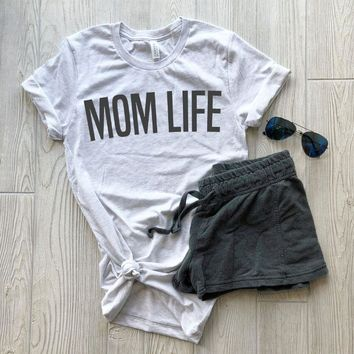 "The Minimal ""MOM"" Graphic Tee"