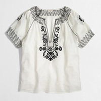Factory V-neck peasant top - blouses/tees - FactoryWomen's Shirts & Tops - J.Crew Factory