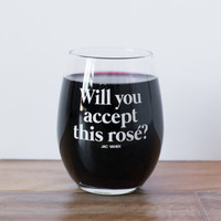 Rosé Ever After Wine Glass - Jac Vanek