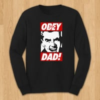 OBEY DAD / LS Black