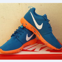 """NIKE"" Trending Fashion Casual Sports Shoes Black Blue"