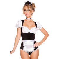 Foxy Cleaning Maid Halloween Costume LAVELIQ