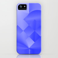 Danish Heart Blues iPhone & iPod Case by Gréta Thórsdóttir  #love #heart #girly #Christmas #blue #kids #ombre #pattern #iphone