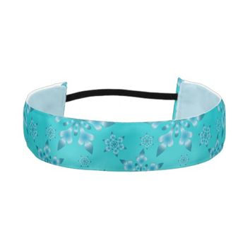 Snowflakes Pattern Athletic Headband