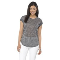 Mossimo® Women's Rolled Cuff Tee - Assorted Colors