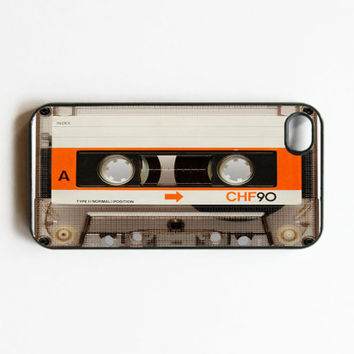 Retro Cassette Tape iphone 4 Case. Cases for iphone 4