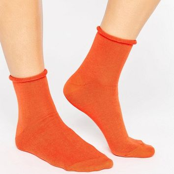 ASOS Roll Top Ankle Socks at asos.com