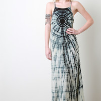 Tie Dye Center Maxi Dress