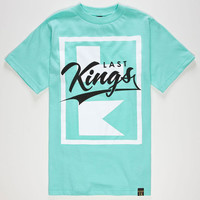 Last Kings Flagship Boys T-Shirt Mint  In Sizes