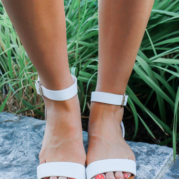Endless Summer Sandals - White
