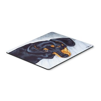 Black and Tan Doxie Dachshund Mouse Pad, Hot Pad or Trivet AMB1079MP