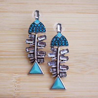 Bonefish Earrings