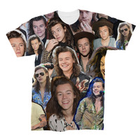 Harry Styles Photo Collage T-Shirt