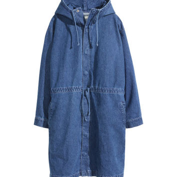 Denim Parka - from H&M