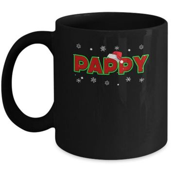 IKCKIJ3 Pappy Christmas Santa Ugly Sweater Gift Mug