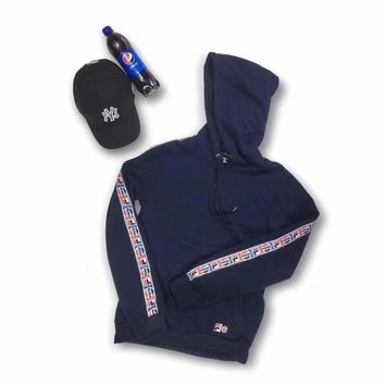 FILA x Pepsi Fashion Hoodie Top Sweater Pullover-1