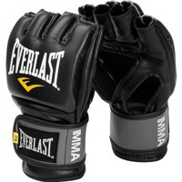 Everlast Pro Style MMA Grappling Gloves, Small/Medium, (Black)