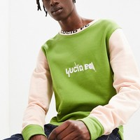 Lucid FC Fabricated Crew Neck Sweatshirt   Urban Outfitters