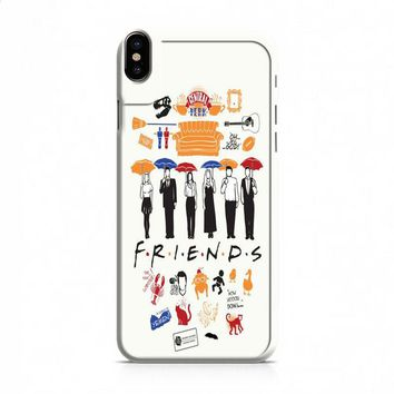 Friends Collage iPhone X case