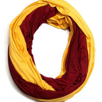 Gameday Scarf - Maroon and Gold