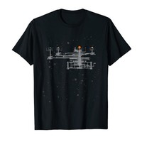 Solar System Orrery in Space Geeky T-Shirt
