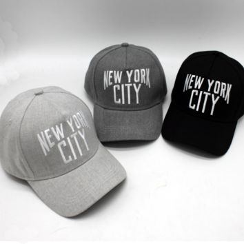 NEW YORK CITY Baseball Cap Hat