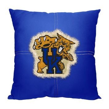 "Kentucky OFFICIAL College, ""Letterman"" 18""x 18"" Pillow  by The Northwest Company"