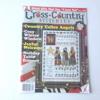 Stitching Magazine, Holiday Patterns, Christmas Patterns, Counted Cross Stitch