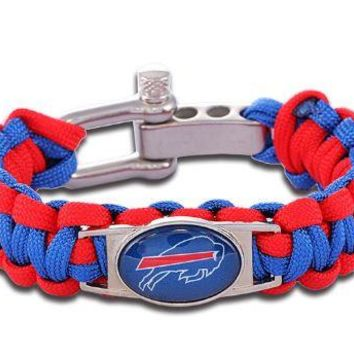 NFL - Buffalo Bills Custom Paracord Bracelet