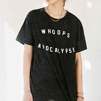 Vanguard Whoops Apocalypse Tee- Washed Black