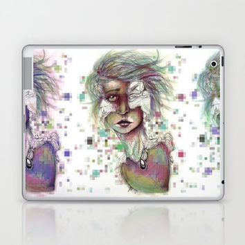 Hominal Cybernated Laptop & iPad Skin by Ben Geiger