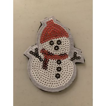 Snowman Holiday Patch
