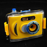 1.3MP underwater digital camera, water proof with flash