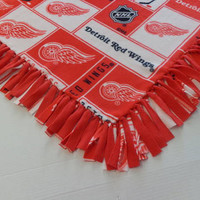 Detroit Red Wings Fleece Throw