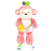 Taggies Huggable Soother Pal - Pink Monkey