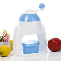 Summer Homemade Manual Snoflake Crusher Practical Hand Crank Swing Ice Shaver Crushing Machine Smoothies Machine