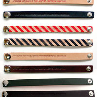 Fancy - Bless Leather Strap Bracelets