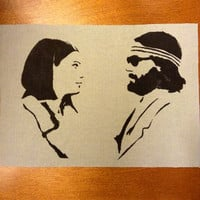 The Royal Tenenbaums Margot and Richie Handmade Sew-On Patch