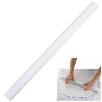 White roller to Patisserie Sugar Fondant Cake Decorating Rolling Pin 50CM