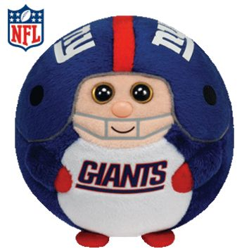 Ty Beanie Ballz NY Giants