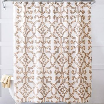 Better Homes and Gardens Irongate Shower Curtain - Walmart.com