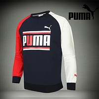 Trendsetter Puma Men Fashion Casual Top Sweater Pullover