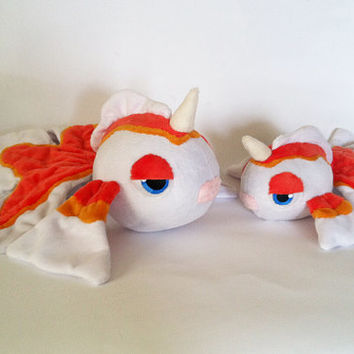 Goldeen Pokemon plush