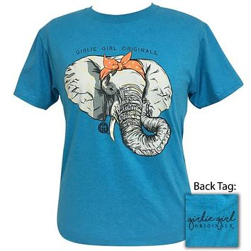 Girlie Girl Originals Preppy Bandana Elephant T-Shirt